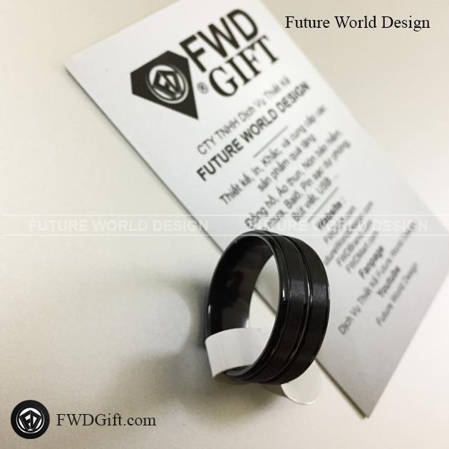 FWD - Nhẫn đen nhám